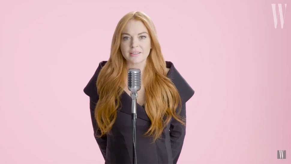Lindsay Lohan Reenacts  Mean Girls  Quotes    and It s Kind of     Lindsay Lohan