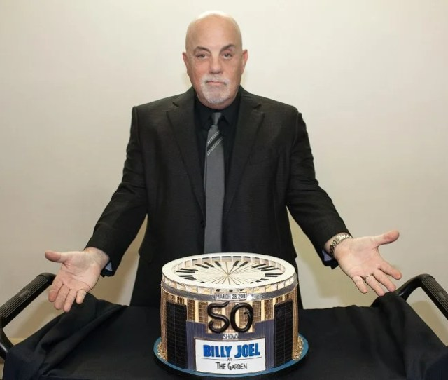Billy Joel Celebrates Th Show At Msg