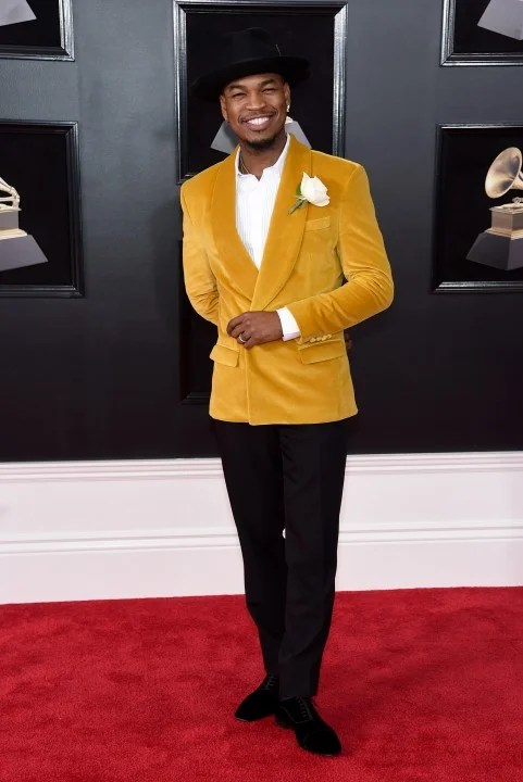 Ne-Yo at 2018 GRAMMYs