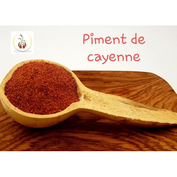Poudre de piment de cayenne