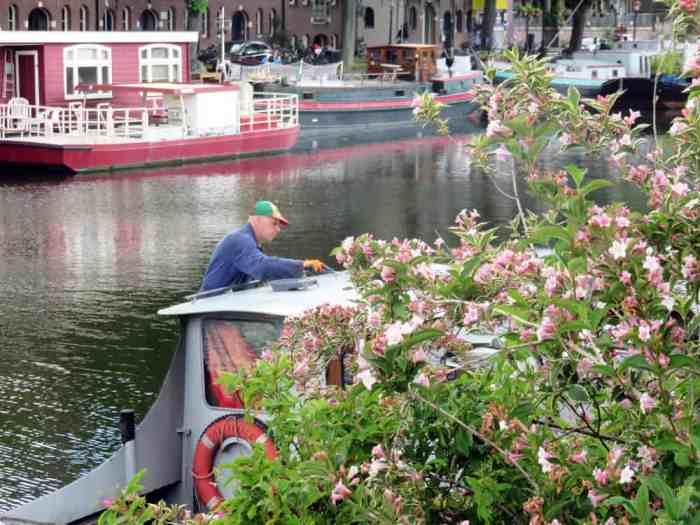 """Amsterdam, les """"Îles de l'ouest"""" (Westelijke Eilanden) ©Etpourtantelletourne.fr 2015"""