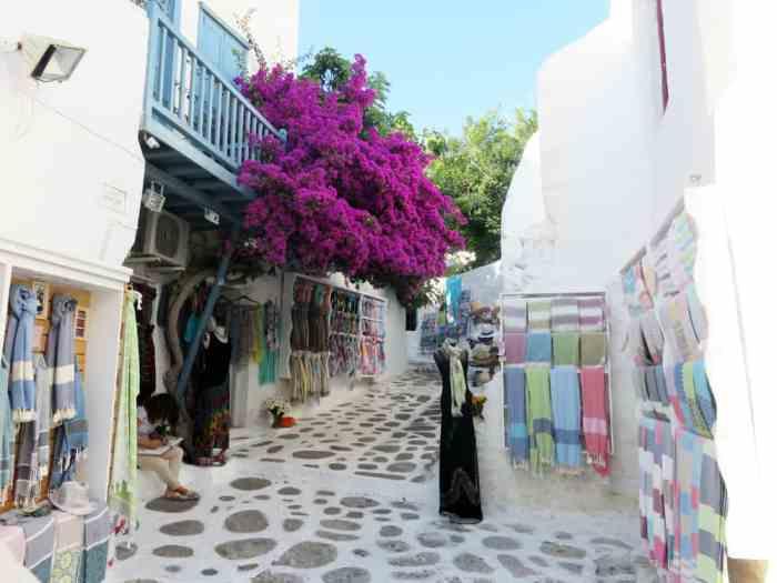 Mykonos, Chora 2015 ©Etpourtantelletourne.fr