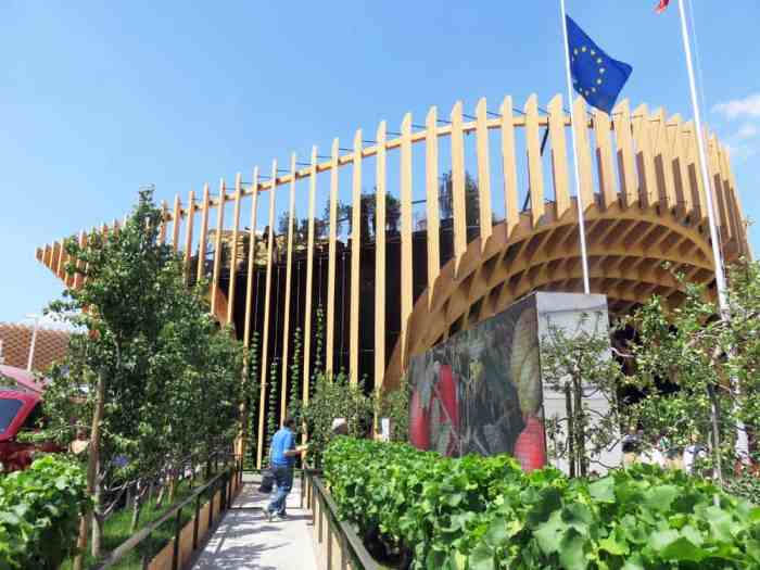Expo Milano 2015, Pavillon France ©Etpourtantelletourne.fr