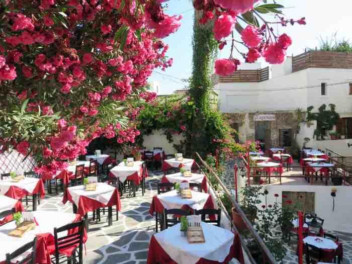 Naxos, Chora 2015 ©Etpourtantelletourne.fr