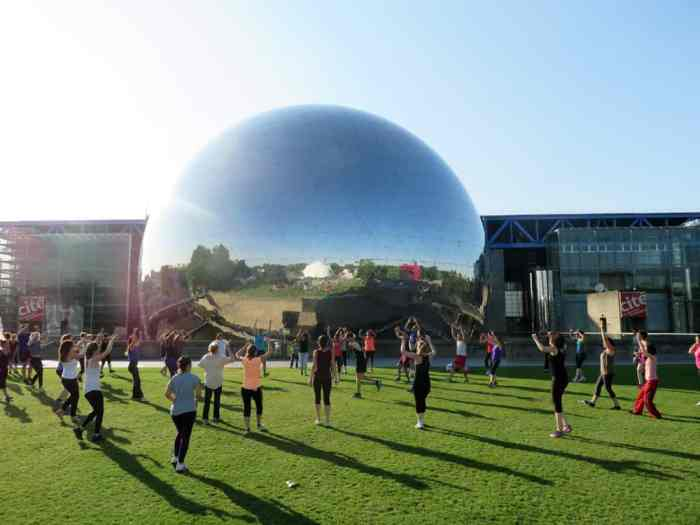 Parc de la Villette, Gym suédoise, Paris 2015 ©Etpourtantelletourne.fr