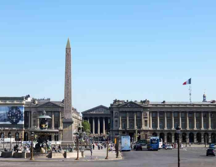 Place de la Concorde, Paris expositions universelles 2015 ©Etpourtantelletourne.fr