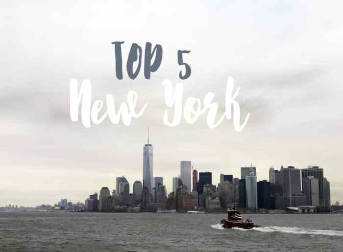 Top 5 New York ©Etpourtantelletourne.fr