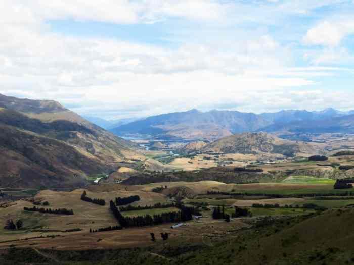 Crown range road, Nouvelle-Zélande, Lieux tournage Seigneur des Anneaux 2016 ©Etpourtantelletourne.fr
