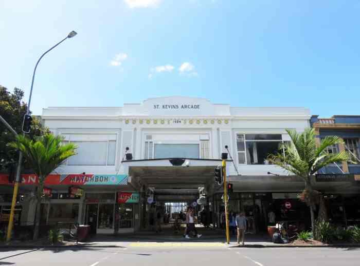 Auckland - Saint Kevin Arcade 2016 ©Etpourtantelletourne.fr