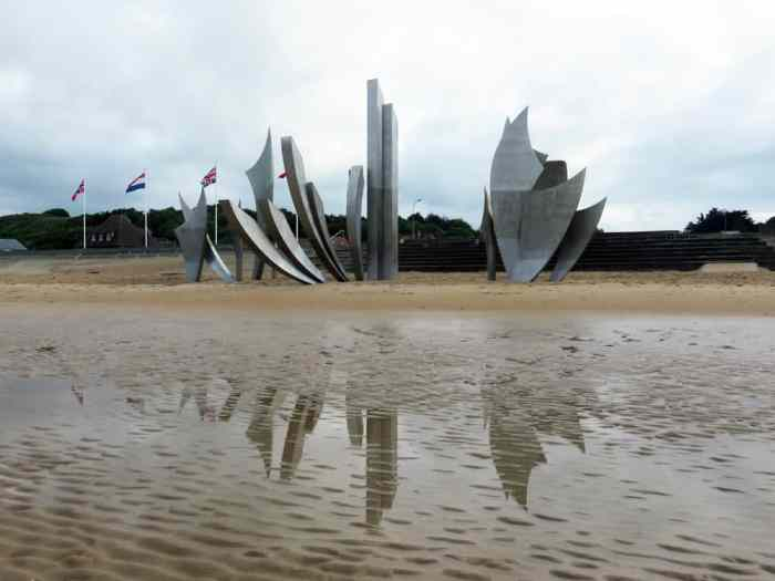 Omaha Beach 2016 ©Etpourtantelletourne.fr