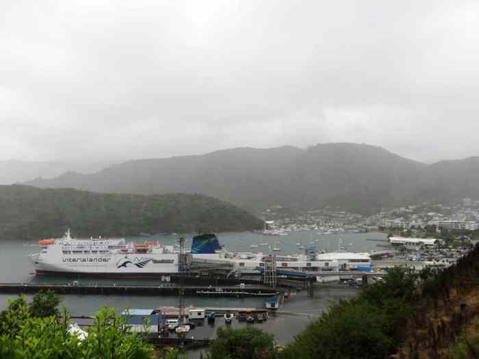 Nouvelle Zélande Interislander Picton 2016 ©Etpourtantelletourne.fr