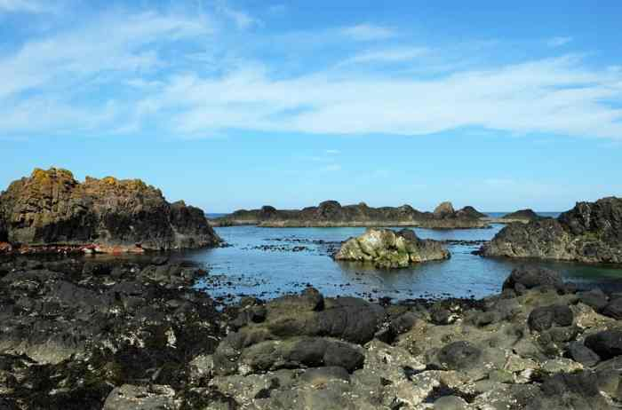 Itinéraire sur les lieux de tournage de Game of Thrones en Irlande du Nord - Ballintoy ©Etpourtantelletourne.fr