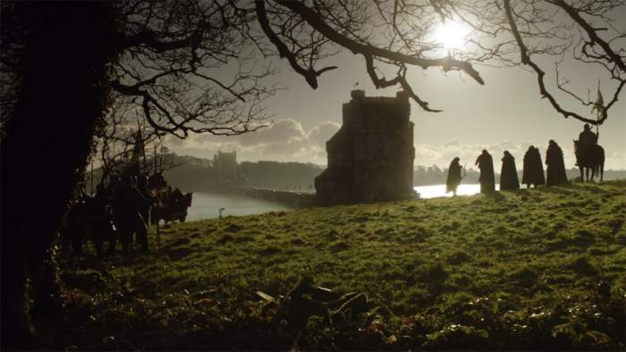 Itinéraire sur les lieux de tournage de Game of Thrones en Irlande du Nord - Audleys Castle - Les Jumeaux ©HBO