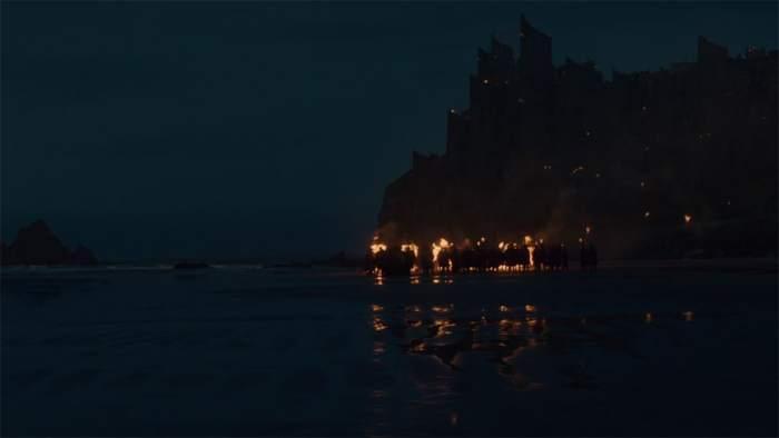 Itinéraire sur les lieux de tournage de Game of Thrones en Irlande du Nord - Downhill beach ©HBO