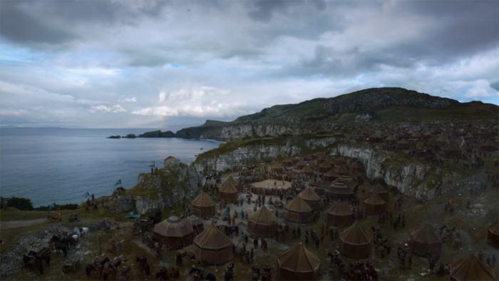 Itinéraire sur les lieux de tournage de Game of Thrones en Irlande du Nord - Larrybane ©HBO