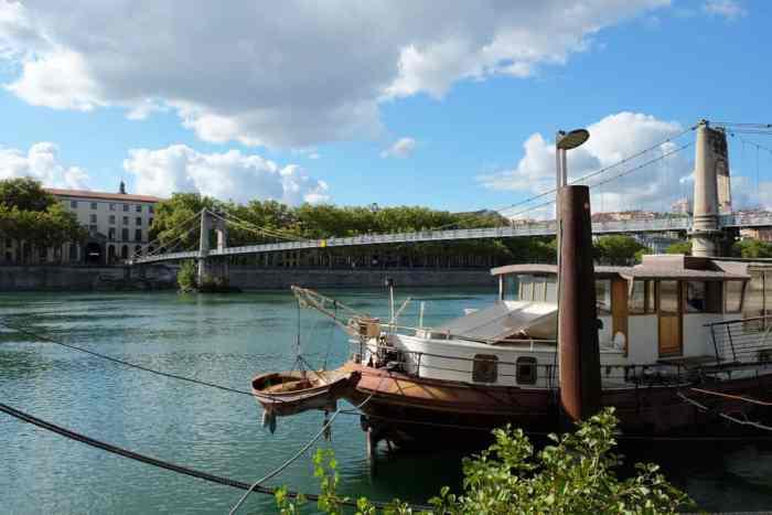 Lyon les berges du Rhône ©Etpourtantelletourne.fr