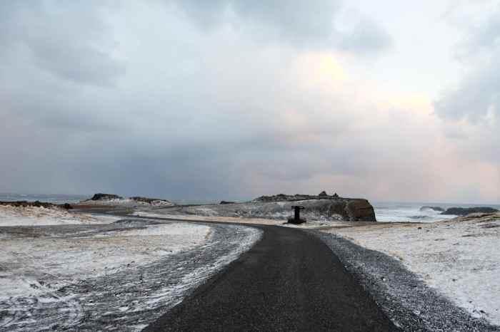 Islande en hiver Les falaises Dyrhólaey ©Etpourtantelletourne.fr