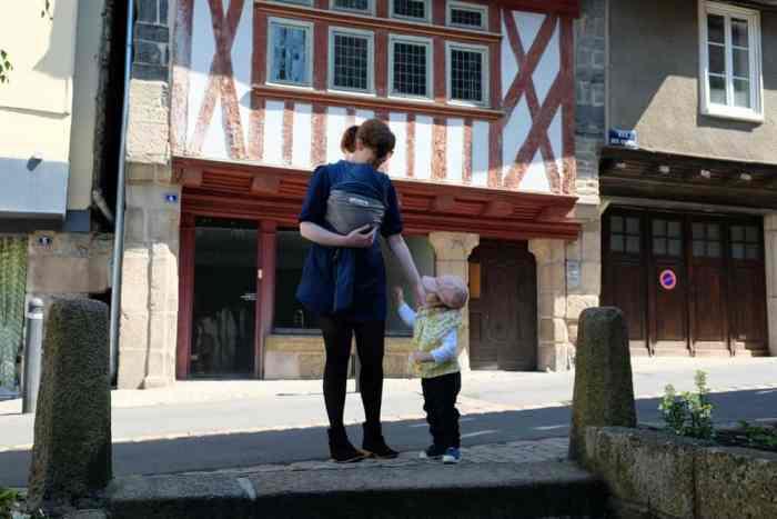 Visite de Morlaix avec des enfants en bas âges ©Etpourtantelletourne.fr