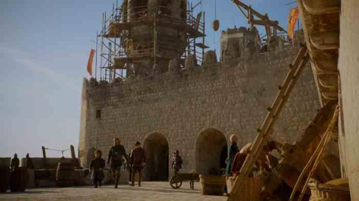 Copie d'écran tirée de la série « Game of Thrones » saison 3, épisode 1 / HBO