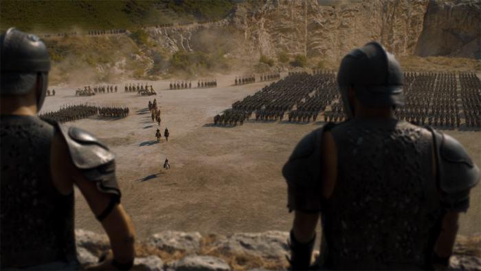 Copie d'écran tirée de la série « Game of thrones » saison 4, épisode 3 / HBO