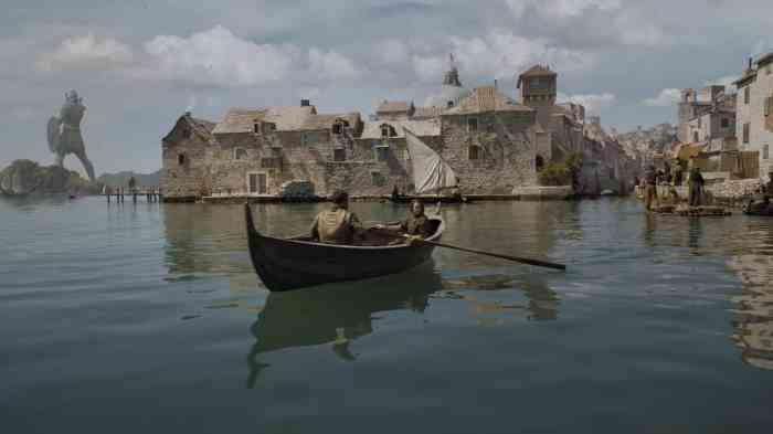 Copie d'écran tirée de la série « Game of Thrones » saison 5, épisode 2 / HBO