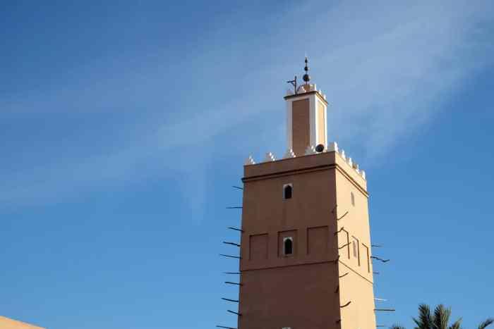 Mosquée Tiznit Maroc ©Etpourtantelletourne.fr