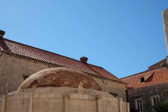 La Grande fontaine d'Onofrio à Dubrovnik ©Etpourtantelletourne.fr