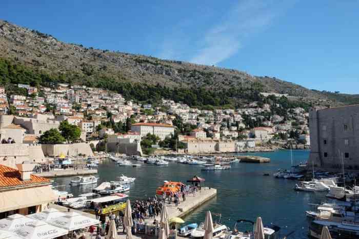 Port de Dubrovnik ©Etpourtantelletourne.fr