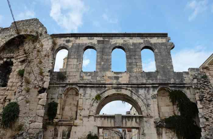 Visiter Split en Croatie le palais de Dioclétien ©Etpourtantelletourne.fr