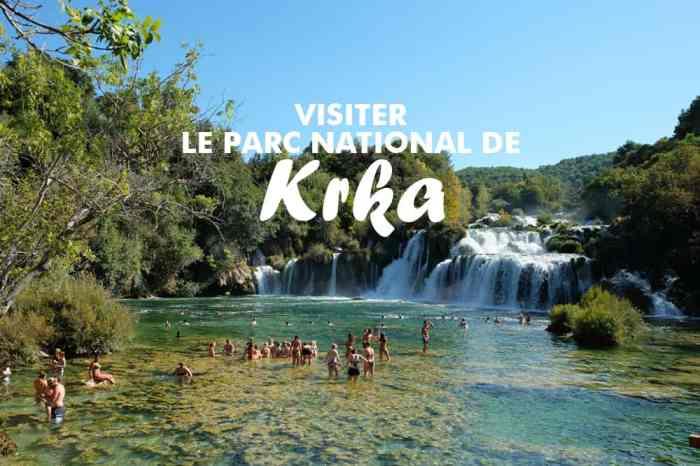 Nos conseils et bons plans pour visiter le parc national de Krka en Croatie ©Etpourtantelletourne.fr