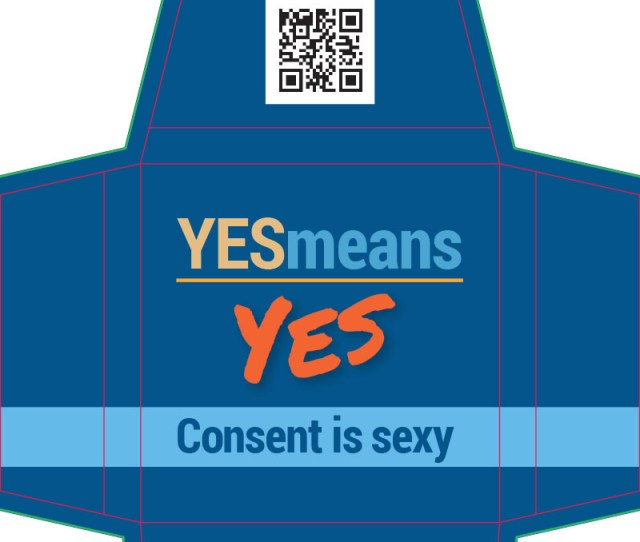 Yes Means Yes Consent Is Sexy Kit  Lube Condom Kit Etr