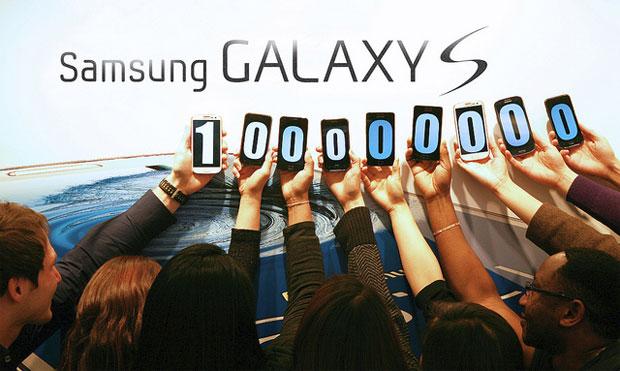 100 million galaxy s series phones sold