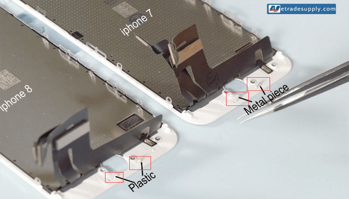 iPhone 8 and iPhone 7 LCD screen buckle materials 2
