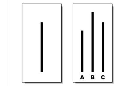 Líneas de Asch. Conformidad