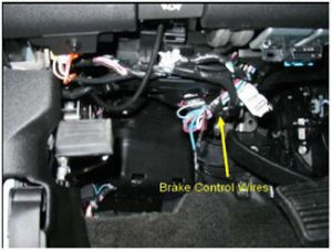 Aftermarket Brake Control Wiring for 07Current GM FullSize Truck with FactoryIntegrated Brake