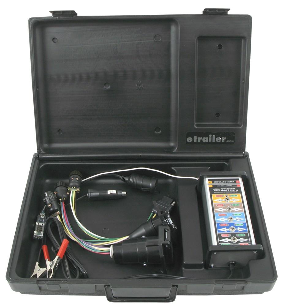 Truck 7 Way Round Trailer Plug Tester Circuit