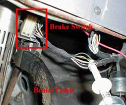 Finding the Brake Light Switch on a 2010 Dodge Journey to Wire a Brake Controller | etrailer