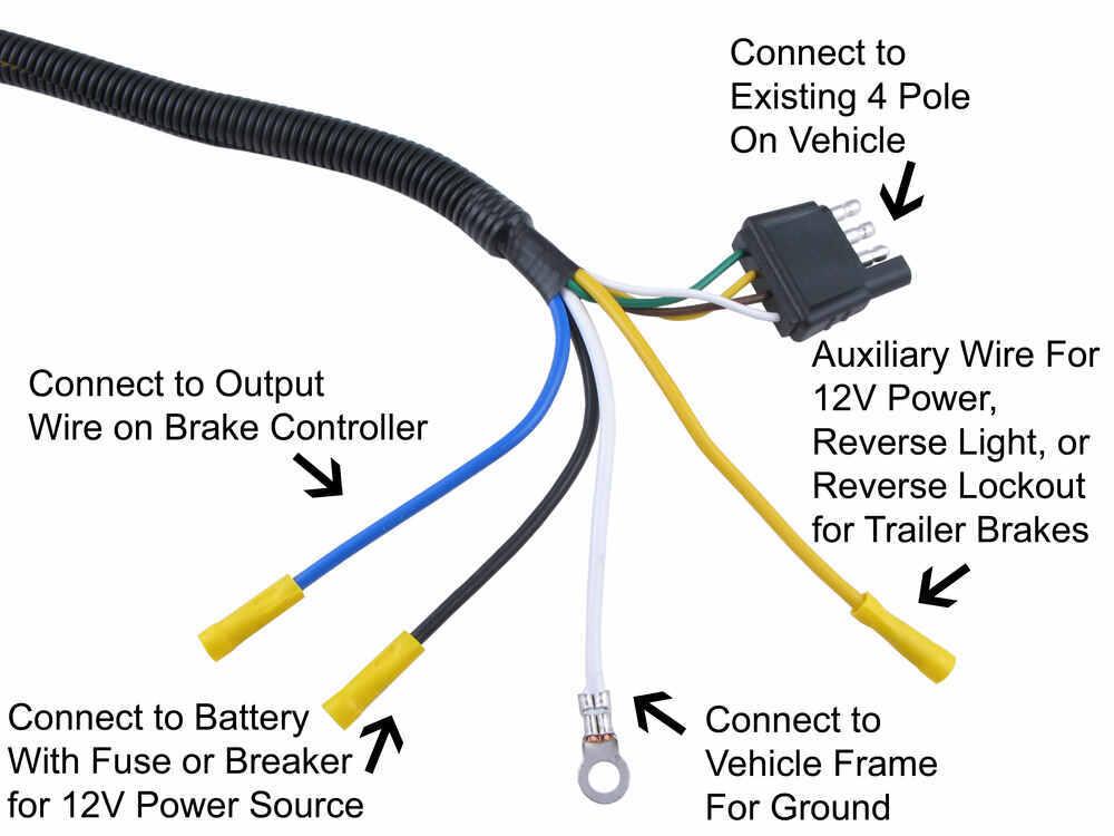 4 pin round trailer wiring - facbooik, Wiring diagram