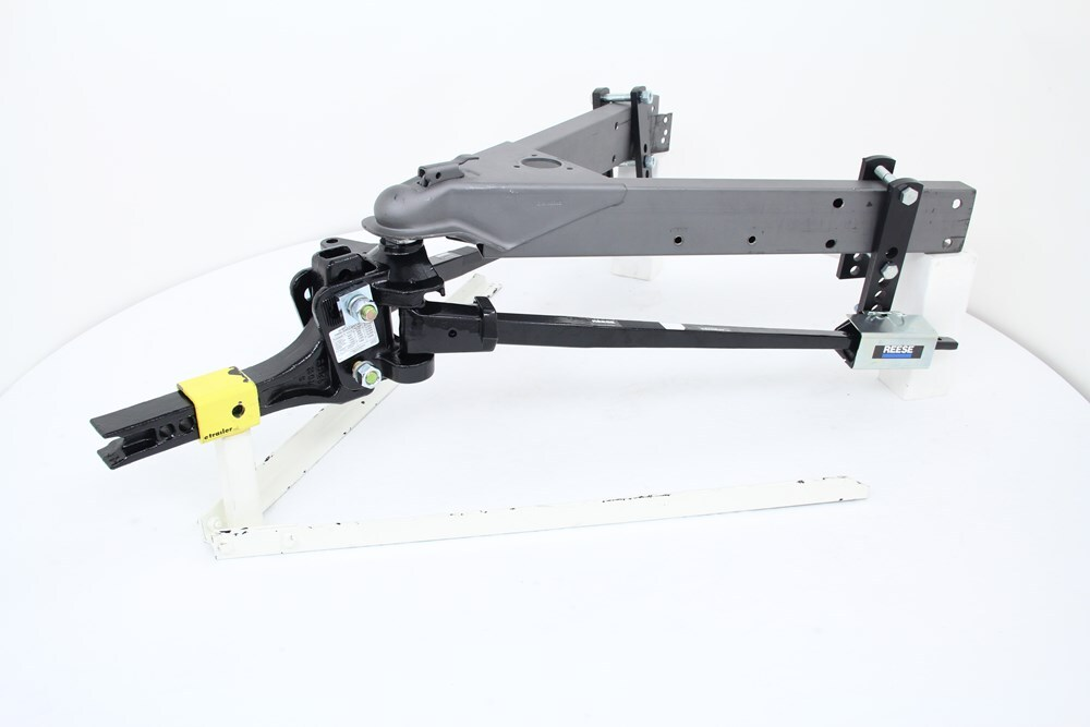 Adjustable Distribution Weight Hitch Reese
