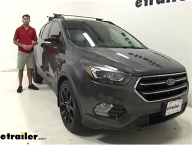 malone airflow2 universal roof rack installation 2017 ford escape
