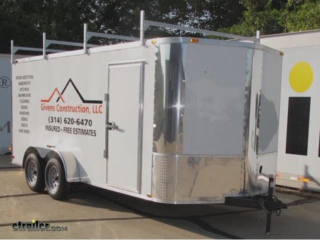 rackem fitz all enclosed trailer ladder rack installation