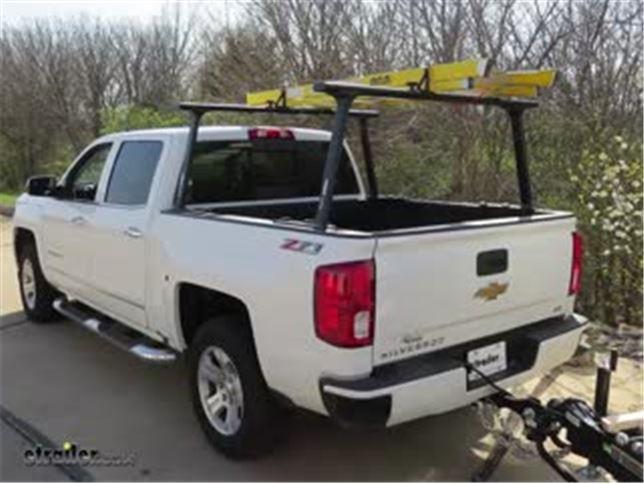 thule tracrac tracone truck bed ladder rack installation 2017 chevrolet silverado 1500