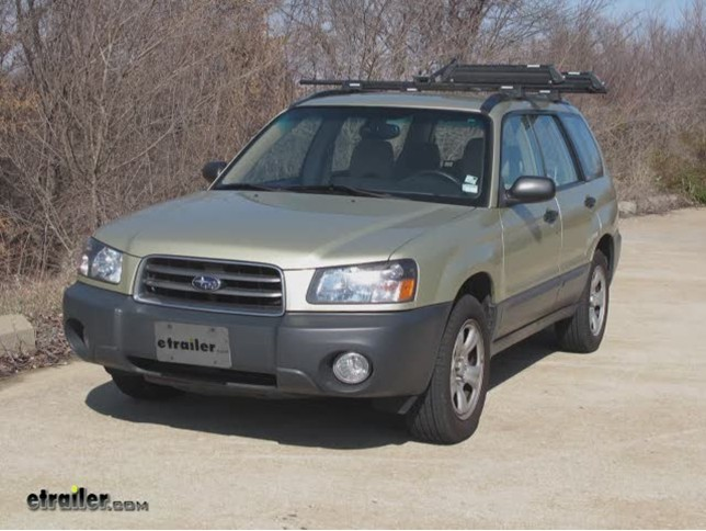 trailer wiring harness installation  2003 subaru forester  tow ready