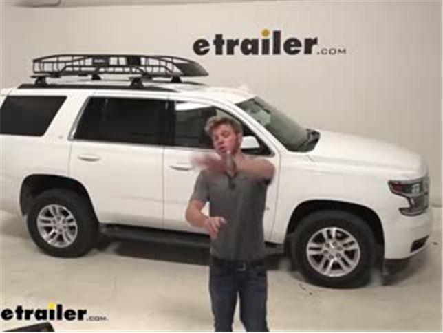 etrailer roof cargo basket review 2020 chevrolet tahoe