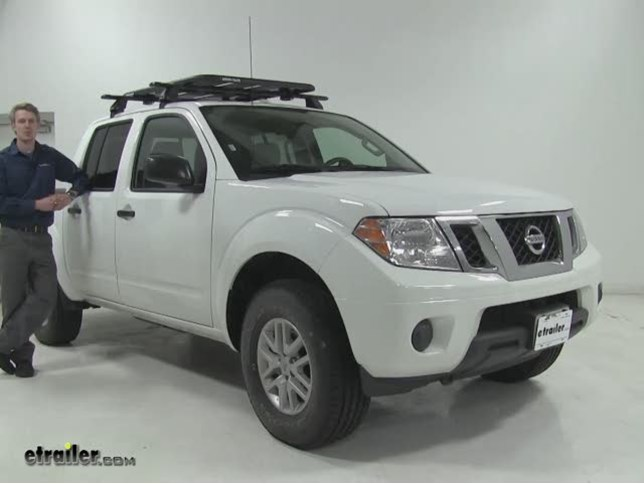 rhino rack roof cargo carrier review 2016 nissan frontier