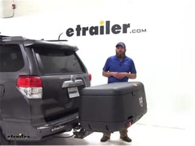 rola swinging hitch mounted cargo carrier review