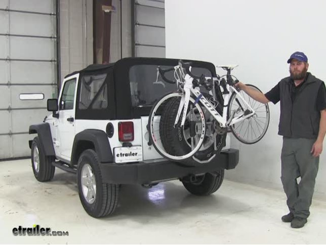 thule spare tire bike racks review 2016 jeep wrangler