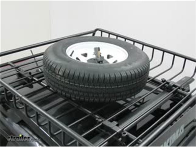 yakima cargo baskets spare tire carrier review