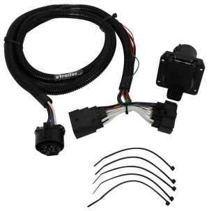 2017 Ford Explorer TOne Vehicle Wiring Harness for Factory Tow Package  7Way Trailer Connector