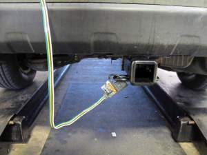 TOne Vehicle Wiring Harness with 4Pole Flat Trailer Connector Tekonsha Custom Fit Vehicle